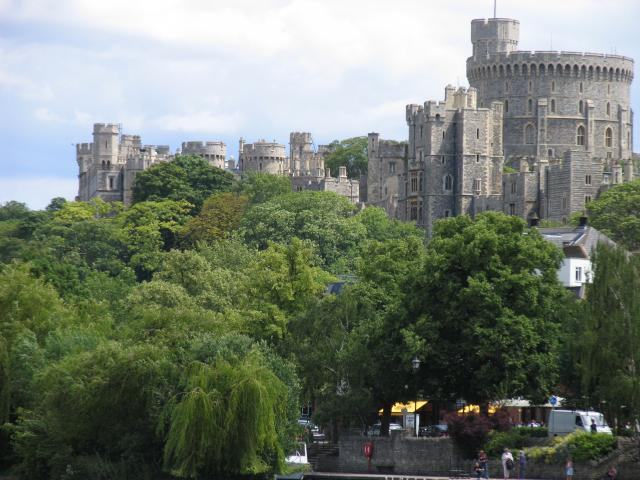 Windsor Castle: A riverside view