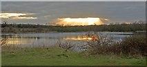 SP8632 : Blue Lagoon, Milton Keynes by Peter Roberts