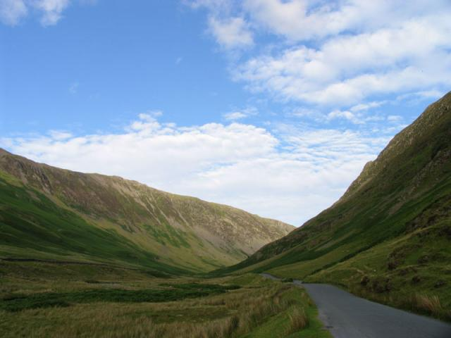 On the B5289: Honister Pass