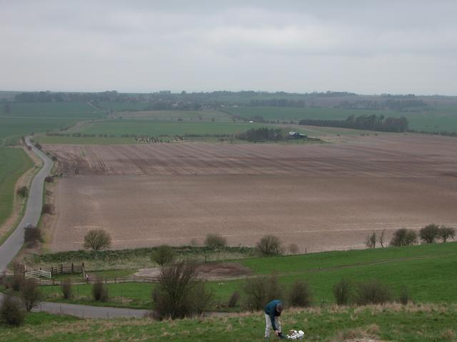 Farmland below the Hackpen White Horse