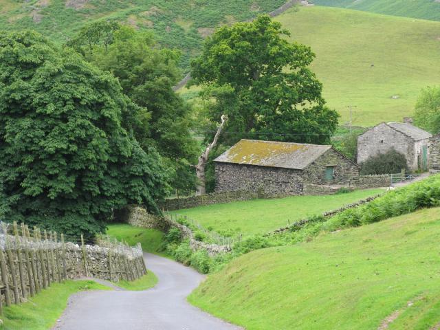 Martindale Cumbria: Steep Gradient