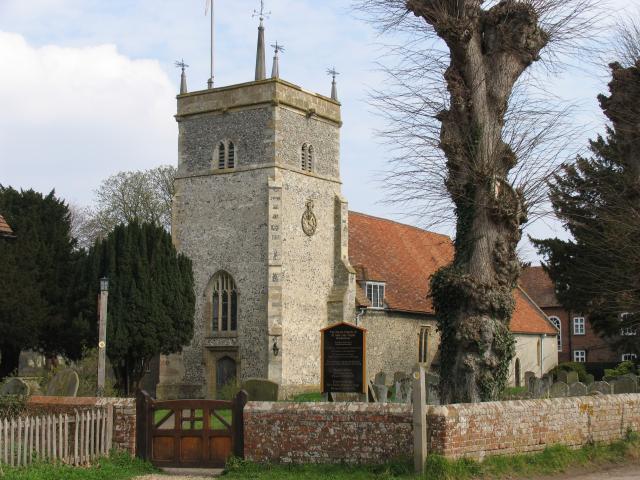 The Parish Church of St Mary The Virgin: Bucklebury