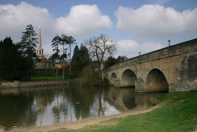 Wallingford Bridge south view