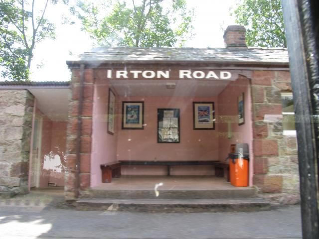 Irton Road Station: Ravenglass and Eskdale Railway