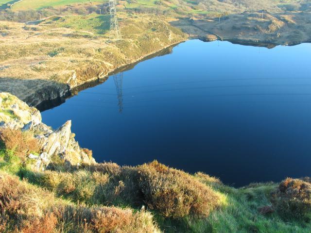 North End of Llyn Tecwyn Uchaf