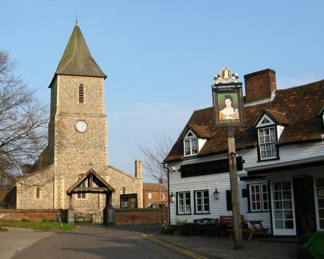 St Leonard's church, Sandridge
