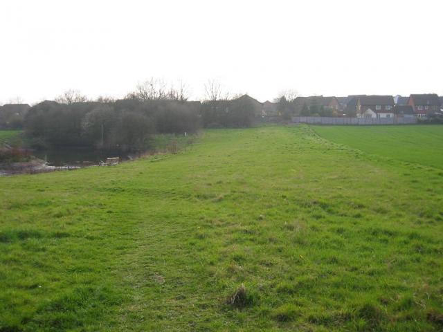 Pond on NE fringe of Marshalswick
