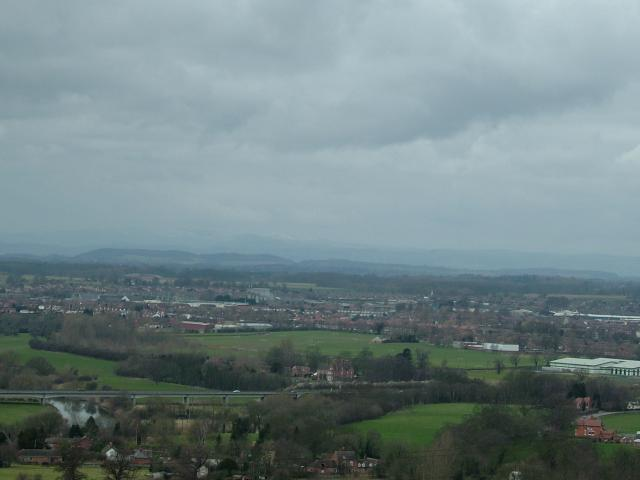 Shrewsbury from Haughmond hill
