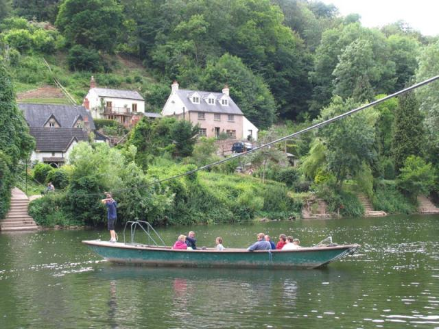 Rope Ferry at Symonds Yat