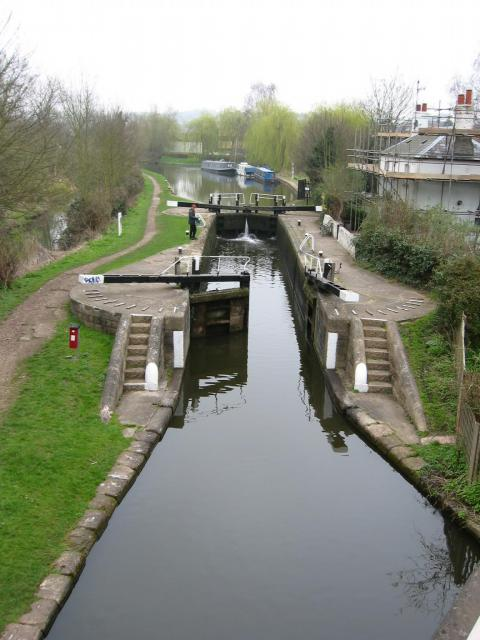 Canal lock, Kings Langley