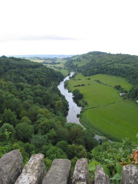 Symonds Yat Rock and Wye Valley