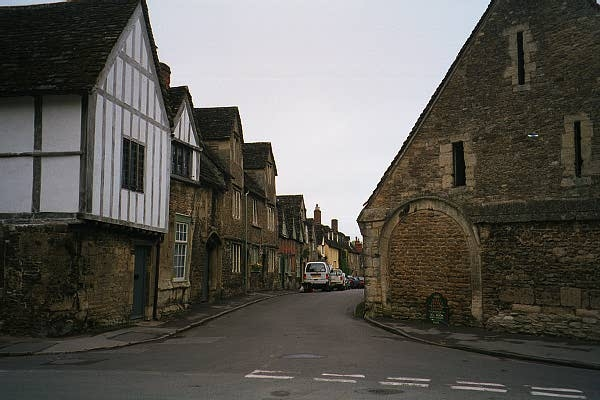 Lacock (National Trust) Village Street