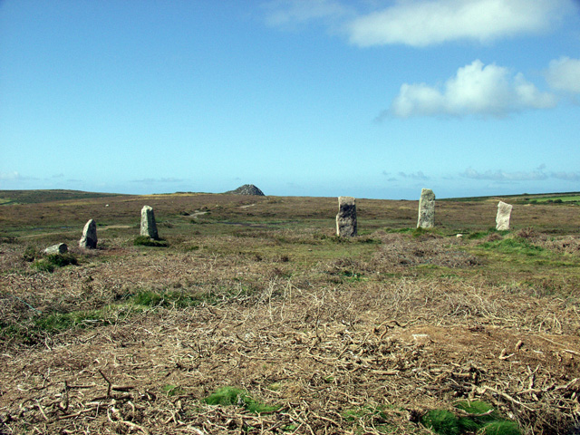 Boskednan Nine Maidens Circle