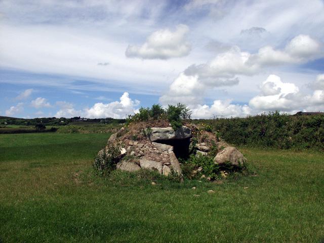 Brane burial chamber