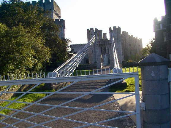 Old Conwy suspension Bridge