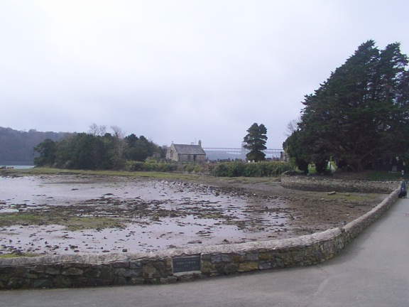 Church Island on the Menai Straits