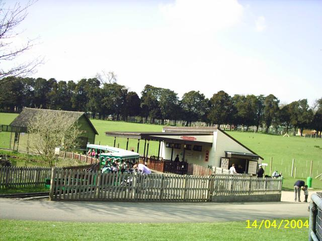 Marwell Zoo Station