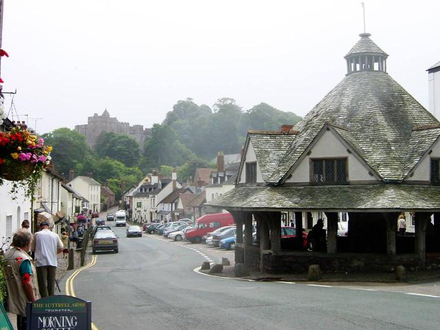 Dunster Castle and Yarn Market