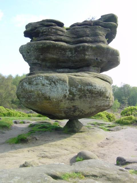 Idol Rock - Brimham Rocks