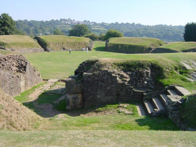 Roman Amphitheatre at Caerleon