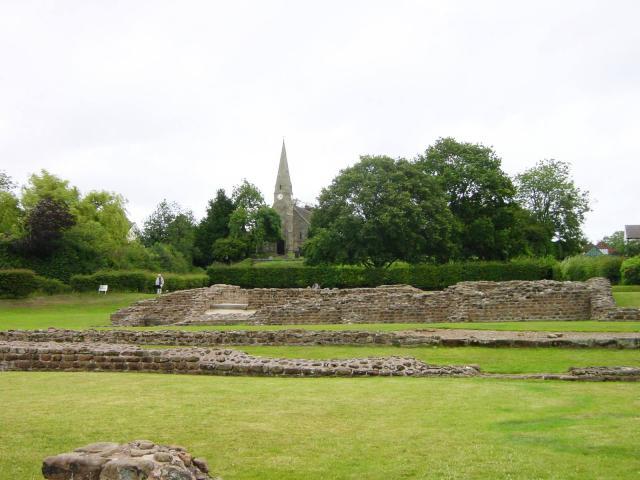 Letocetum Roman Mansio & Baths in Wall