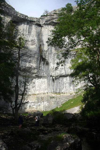 Malham Cove from below
