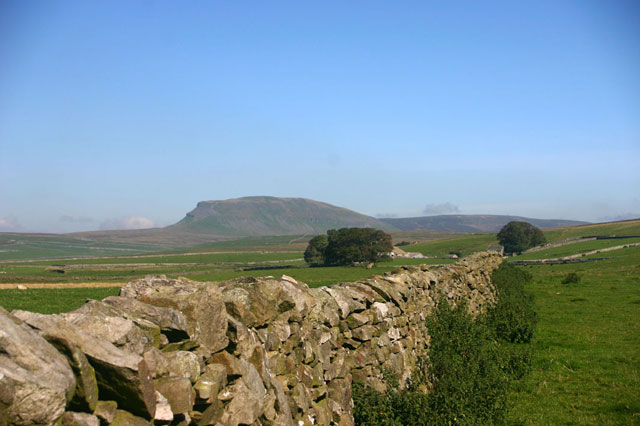 Catrigg area and Penyghent