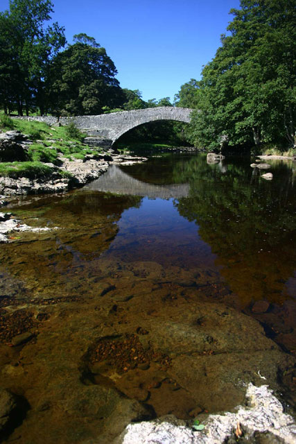 Pack Horse Bridge at Stainforth Force