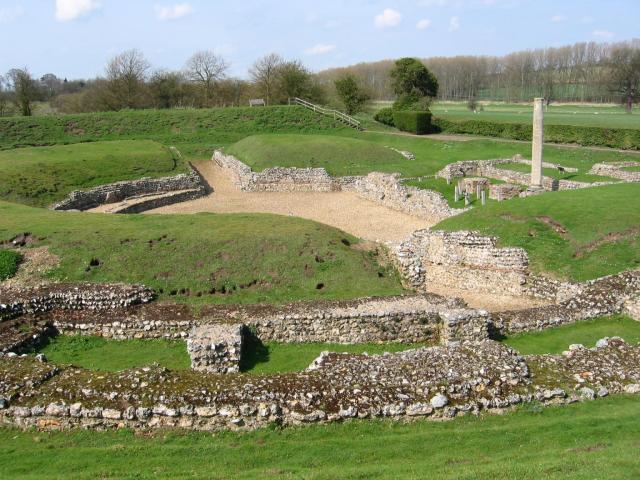 Roman theatre at Verulamium
