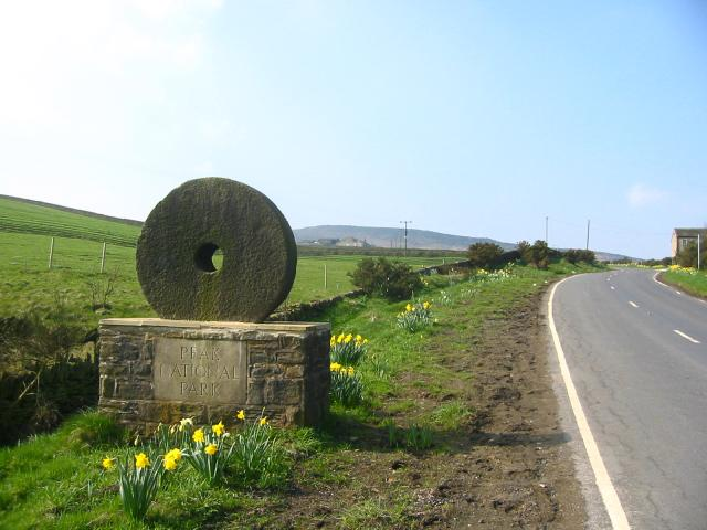 Peak National Park boundary, Meltham