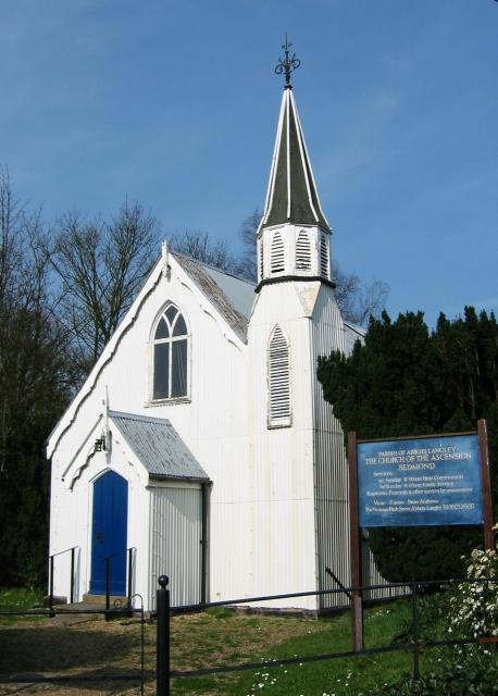 Tin church, Bedmond