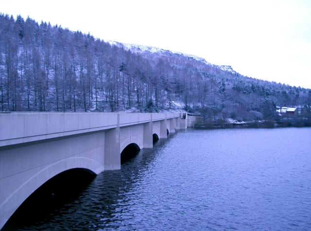 Bridge over the Ladybower Reservoir