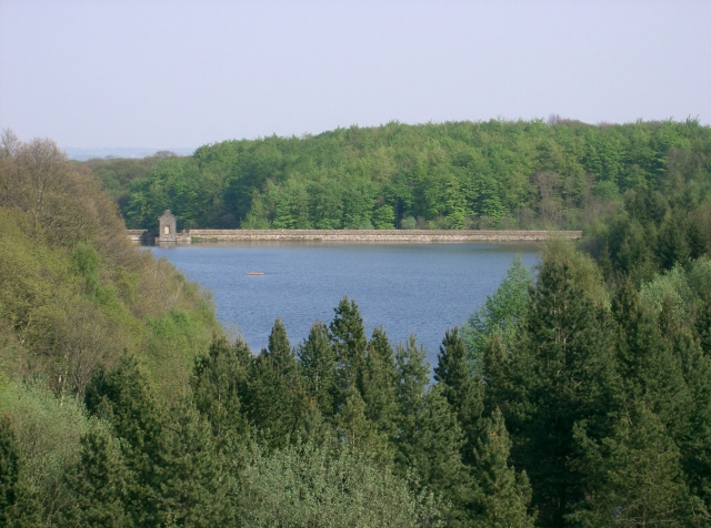 Linacre's Middle Reservoir as Seen from the Top Reservoir