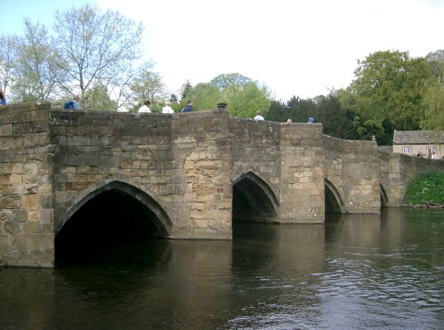 Bridge over the River Wye in Bakewell