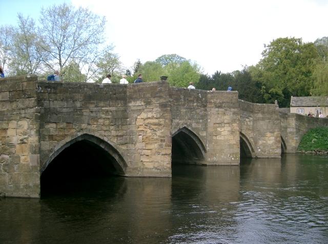 Bridge over the River Wye in Bakewell