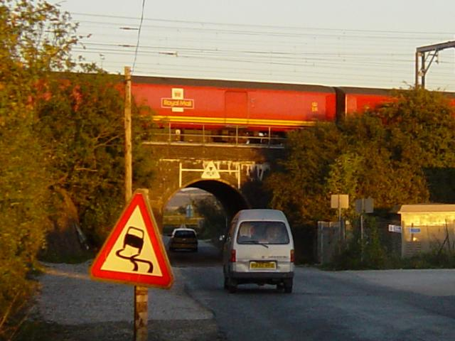 Mailtrain on Bridego Bridge