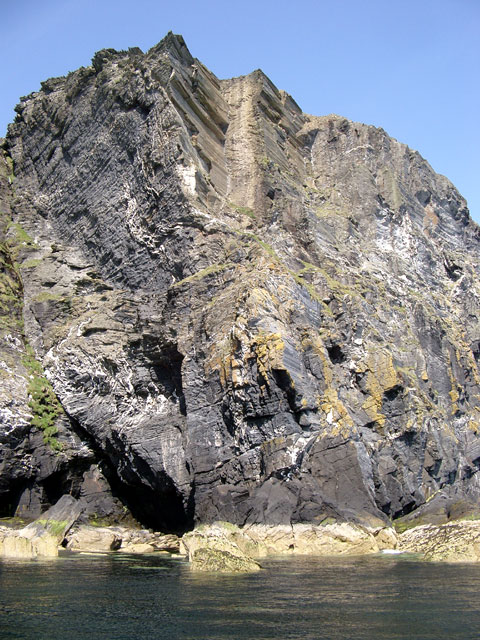 The cliffs of Spanish Head