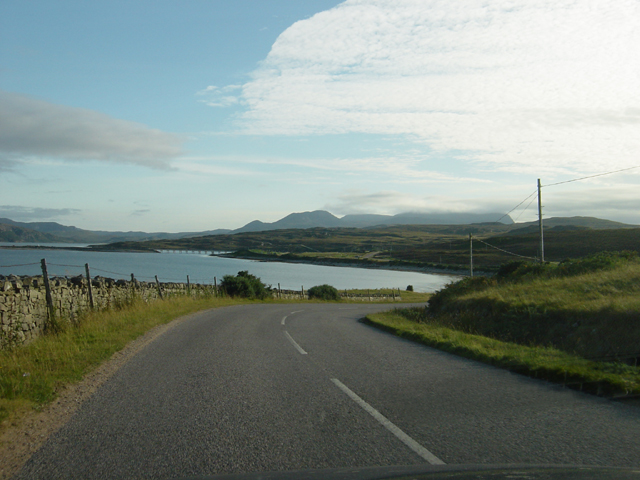 View from the road, Kyle of Tongue
