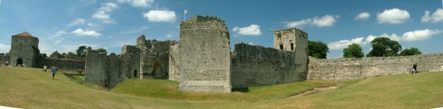 Inner Bailey, Portchester Castle