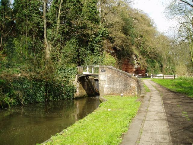 Caldwall Bridge, Staffs.& Worcs. Canal