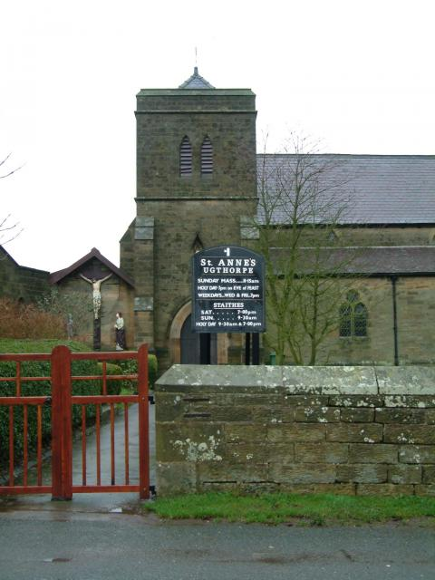 St. Anne's RC Church, Ugthorpe, North Yorkshire