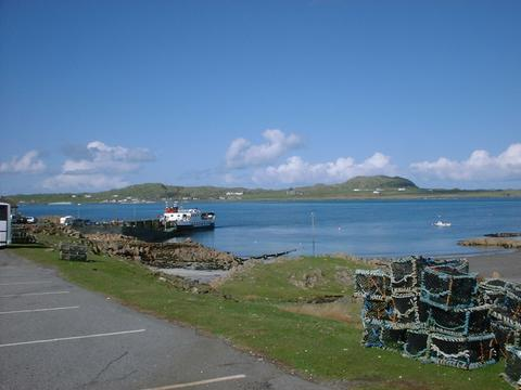 Jetty and Sound of Iona at Fionnphort
