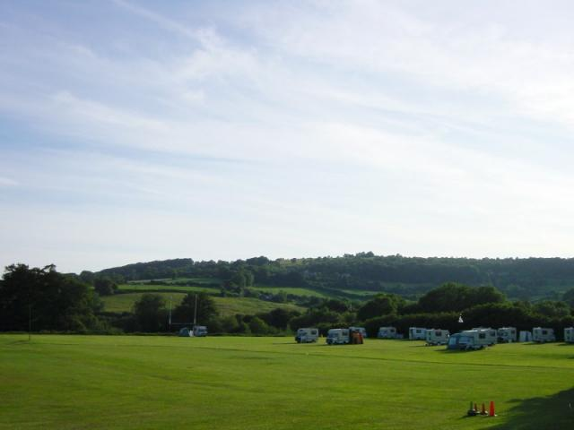 View from Painswick Rugby Club