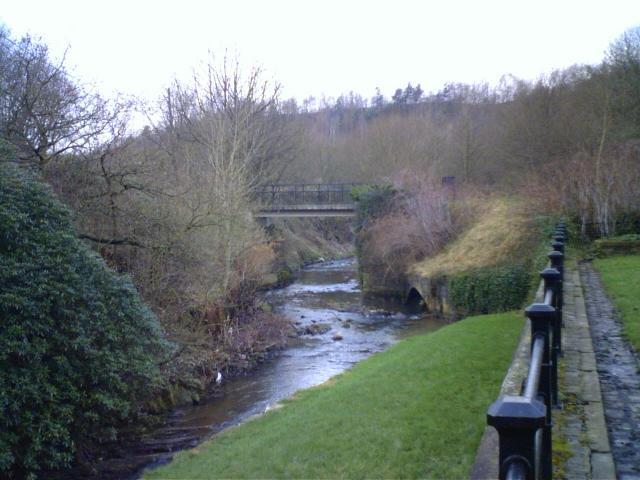 River Medlock, Park Bridge Heritage Centre, Tameside