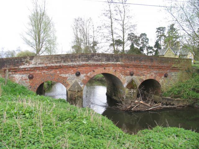 Shalford Bridge: Near Woolhampton