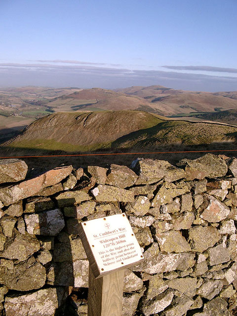 The summit of Wideopen Hill, facing north-east