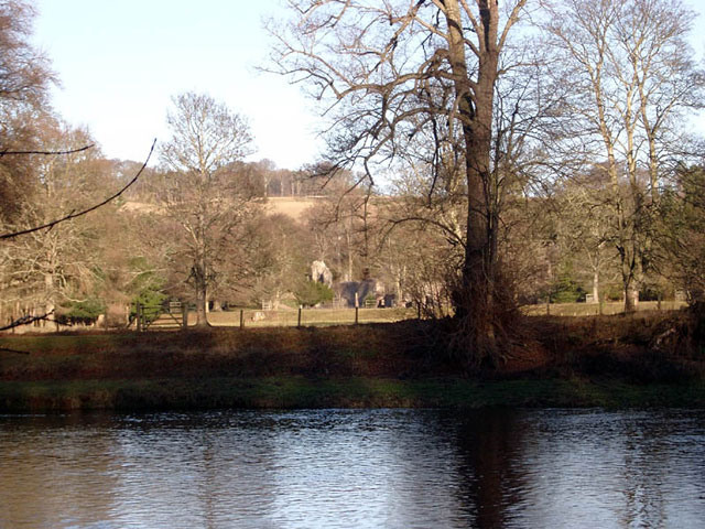 The Tweed at Dryburgh Abbey