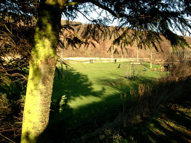 St. Boswells golf course by the River Tweed