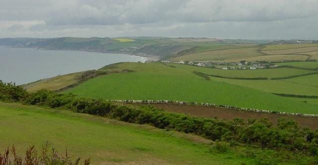 North west along the coast towards Portwrinkle & Downderry