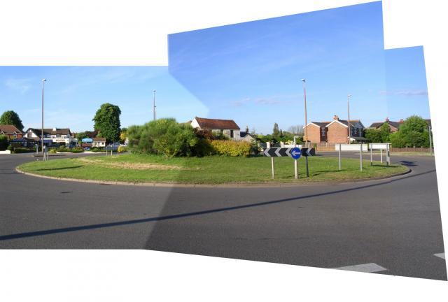 White Swan Roundabout, Bosham